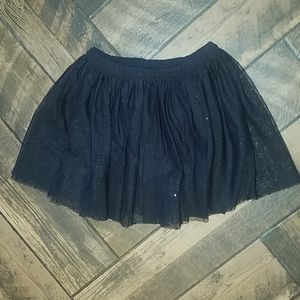Cat & Jack sparkly black tutu skirt